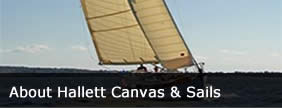 About Hallett Canvas and Sails