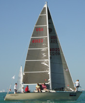 Crosscut Main Racing Sail