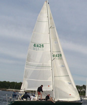 TriRadial Main Racing Sails