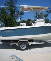 Powerboat Canvas Bimini