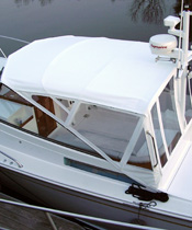 Powerboat Canvas Enclosure