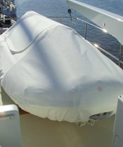 Powerboat Canvas Winter Cover