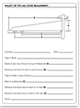 Sail Cover Measurement Form