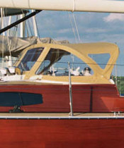 Sailboat Canvas Bimini